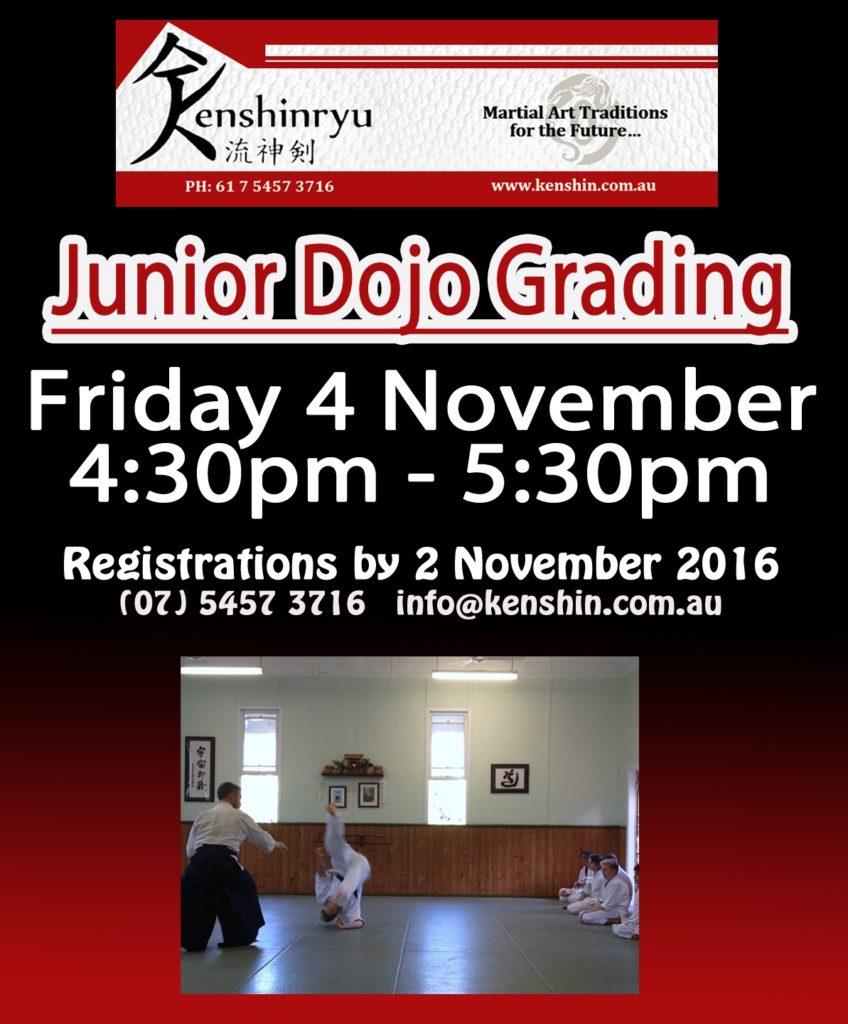 junior-dojo-grading-nov-2016